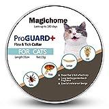 Magichome Collar Antiparasitario para Gatos contra Pulgas, Garrapatas y Mosquitos …