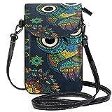 XCNGG bolso del teléfono Owl Cell Phone Purse Wallet for Women Girl Small...