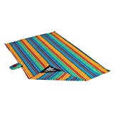 Grand Trunk   Adventure Sheet Blanket (Cabo)   Sand Proof and Water-Resistant Blanket for Beach, Picnics, Festivals, Camping, and Other Outdoor Adventures