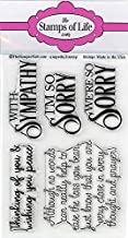 Sympathy Stamps for Card-Making and Scrapbooking Supplies by The Stamps of Life - Sympathy2Stamp