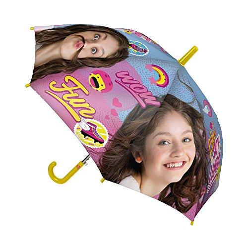 CERDÀ Soy Luna parapluie classique, 67 cm, rose et jaune