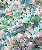 www.espumaencasa.es Relleno Picado Espuma 1kg - Picado de Goma Espuma - Copos Diferentes Densidades Reciclados - Se Puede Mezclar con Otros Materiales como Pluma o Algodón.