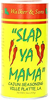Slap Ya Mama All Natural Cajun Seasoning from Louisiana, Original Blend, MSG Free and Kosher, 16 Ounce, Pack of 2