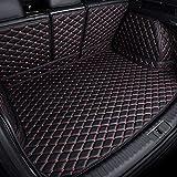 para Audi Q7 7 plazas 2015-2017 Coche Cuero Alfombrilla Maletero Auto Cobertura Completa Bandeja Maleteros Forro Alfombrillas Alfombra Funda Impermeable Protector Interior Accesorios
