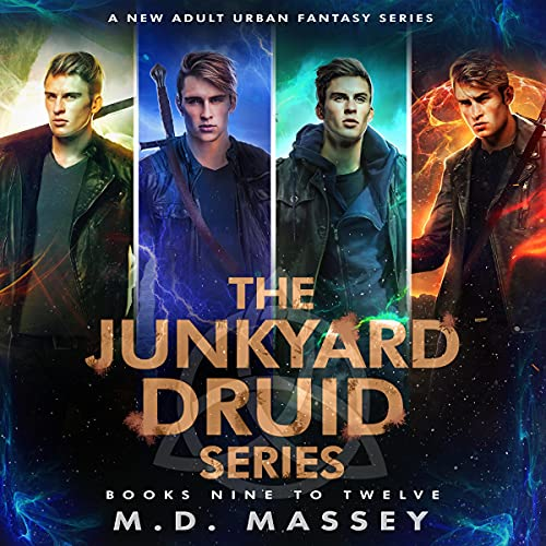 Junkyard Druid, Books 9-12: Junkyard Druid Urban Fantasy Box Sets, Volume 3