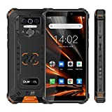OUKITEL WP5 Pro Android 10.0, 4GB RAM+64GB ROM, 8000mAh Large Batteria Rugged Cellulare Telefono, Display 5.5', Antiurto IP68 Outdoor Smartphone, Tripla fotocamera, Luce Flash 4 LED/Dual SIM/OTG/GPS