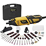 Ginour Rotary tools Kit, 7 Variable & 110pcs Rotary tools accssories with Flex shaft, Multi rotary tools for Handmade DIY & home life