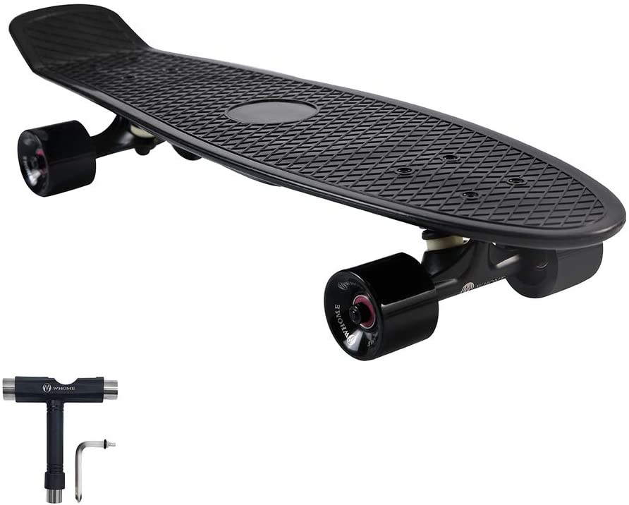 WHOME Skateboard Complete NEW for Adults and Inch Beginners Cru 27 - Free shipping