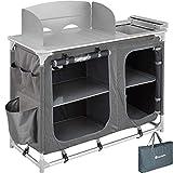 TecTake 800585 - Cocina de Camping, Aluminio, Ligera, Plegable - Varios Modelos (Tipo 2 | No. 402920)