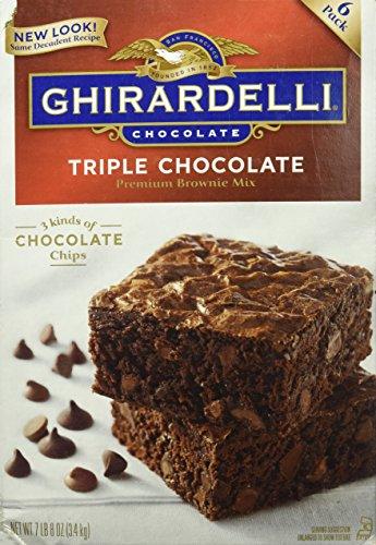 Ghirardelli Triple Chocolate Brownie Mix 3.4kg