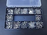 540bulloni assortiti in titanio (pieni e Nyloc) e rondelle. M3, M4 e M5. In acciaio INOX A2-70.