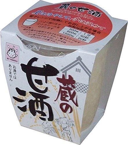 ヤマク食品 ヤマク 蔵の甘酒 180g×12個
