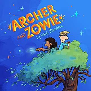 Archer and Zowie audiobook cover art