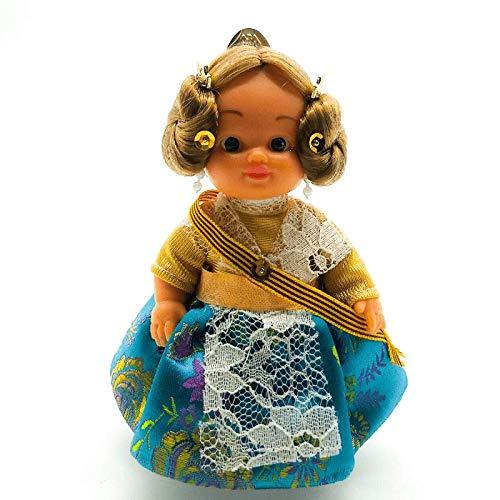 Folk Artesanía Muñeca Regional colección de 15 cm con Vestido típico Valenciana...
