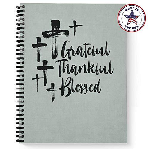 Softcover Blessed Gebetsbuch, 21,6 x 27,9 cm, religiöses Gebetsbuch, 120 Gebetsseiten, langlebig, laminierter Einband, schwarze Spirale. Hergestellt in den USA