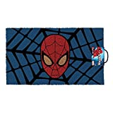Pyramid America Spiderman Web Marvel Comics Outdoor Doormat Door Mat 30x18 inch