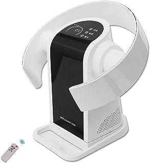 Silencioso Ventilador Sin Aspas, Ventilador de Control Remoto montado en la Pared, Enfriamiento Vertical Desktop Tower Fan, Ideal para Niños, 9 Velocidades