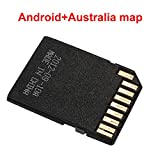 CAIDUD-Class 10 Memory Card 1 TF card Middle East Map,Australia Map,North America Map Euro...