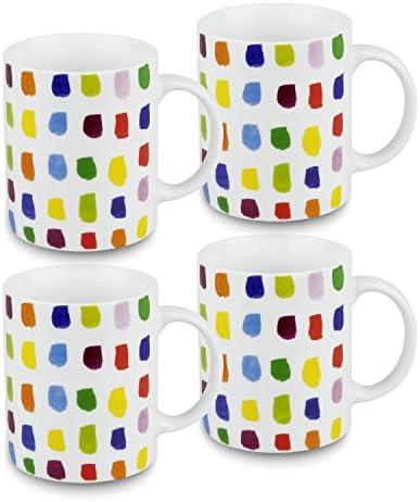 Konitz Splash of Color Mugs Set of 4 product image