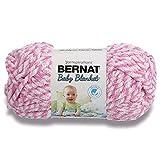 Bernat Baby Blanket Marl Yarn Pink Twist