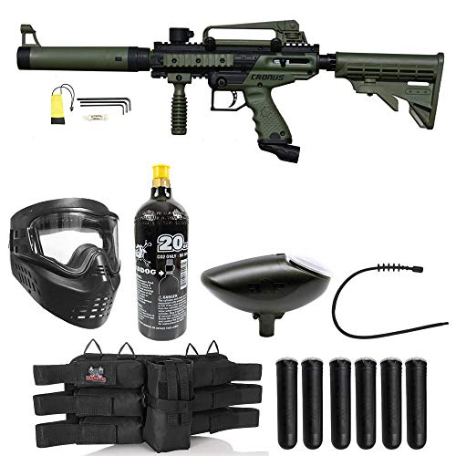 Maddog Tippmann Cronus Tactical Paintball Titanium Paintball Gun...