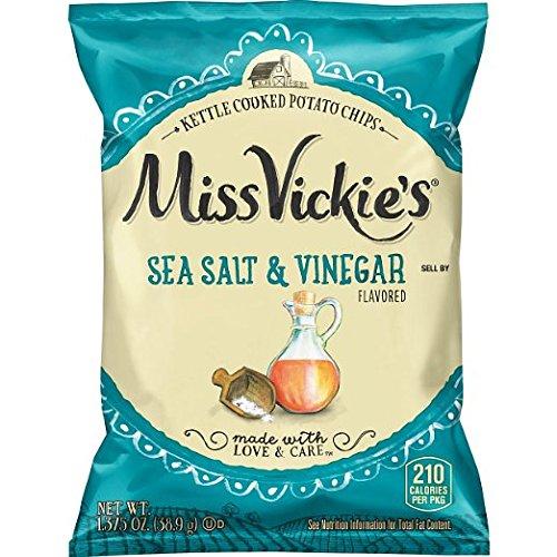 Miss Vickie's 1.3 oz Sea Salt & Vinegar Potato Chips Mix 30pack