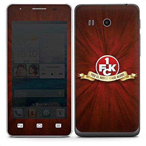 DeinDesign Huawei Ascend G525 Folie Skin Sticker aus Vinyl-Folie Aufkleber 1. FC Kaiserslautern Fanartikel FCK