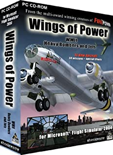 Wings Of Power: WWII Heavy Bombers & Jets add-on for Microsoft Flight Simulator 2004