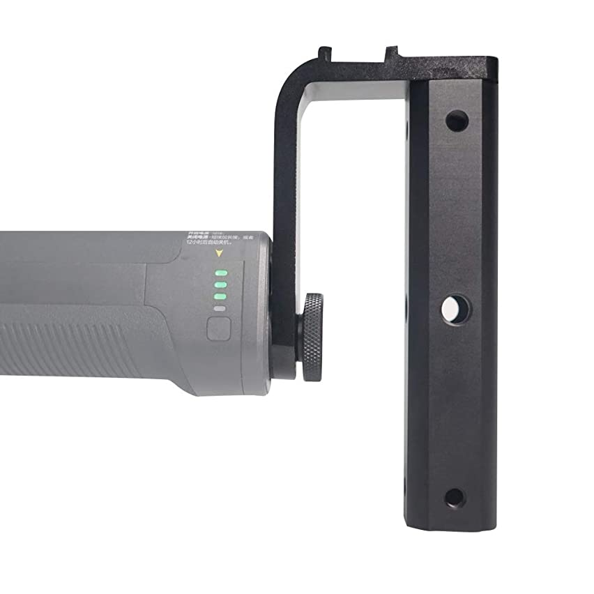 Acouto Camera Handle Grip Support Mount Handle Grip Extension Rod Holder for DJI Ronin S Stabilizer Gimbal