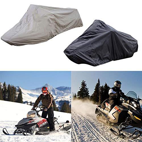 SOWLFE Funda para motonieve para esquí al Aire Libre - Funda para Trineo de motonieve de 145' de Largo x 51' de Ancho x 48' de Alto