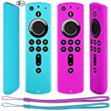Pinowu Fernbedienung Schutzhülle kompatibel mit Fire TV Stick 4K Alexa-Sprachfernbedienung