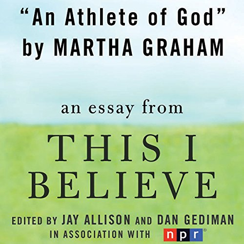 An Athlete of God audiobook cover art