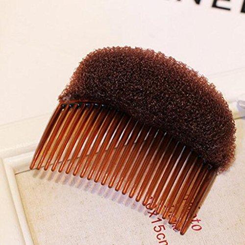 BestMall Lot de 2 peignes en mousse pour cheveux