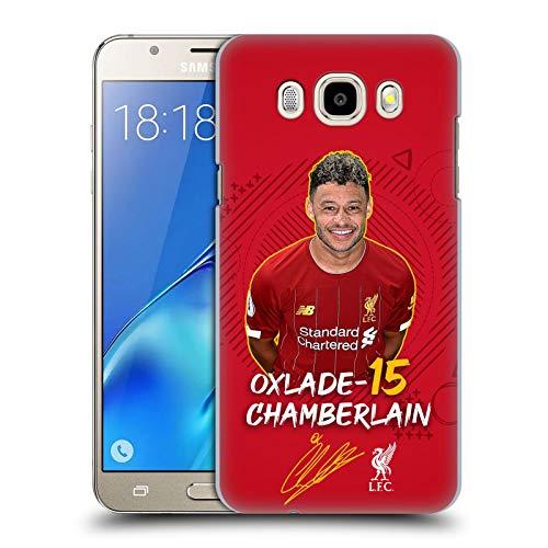 Head Case Designs Oficial Liverpool Football Club Alex Oxlade-Chamberlain 2019/20 Primer Equipo Grupo 1 Carcasa rígida Compatible con Samsung Galaxy J5 (2016)