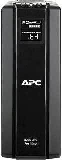 APC 1500VA UPS Battery Backup & Surge Protector with AVR, Back-UPS Pro Uninterruptible Power Supply (BR1500G)