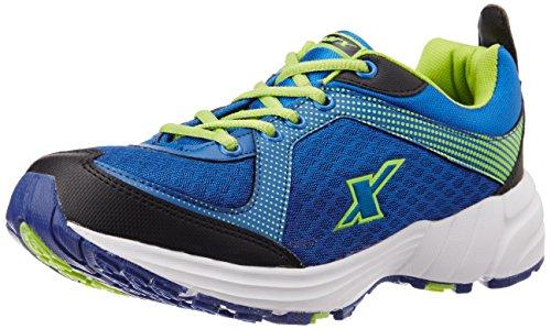 Sparx Men's SX0213G Fluorescent Green and Orange Running Shoes