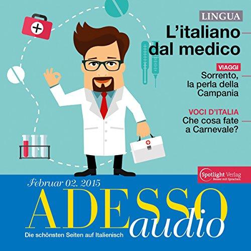 ADESSO Audio - L'Italiano del medico. 2/2015 Titelbild