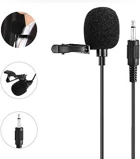 کلیپ یقه قابل حمل WinBridge میکروفون 3.5 میلی متری صدا سازگار با همه تقویت کننده های صوتی WinBridge S6