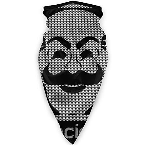 BNUJSAGIF Mr Robot Fsociety - Patrón de punto para la cabeza, cuello, polaina, bandana para la cara