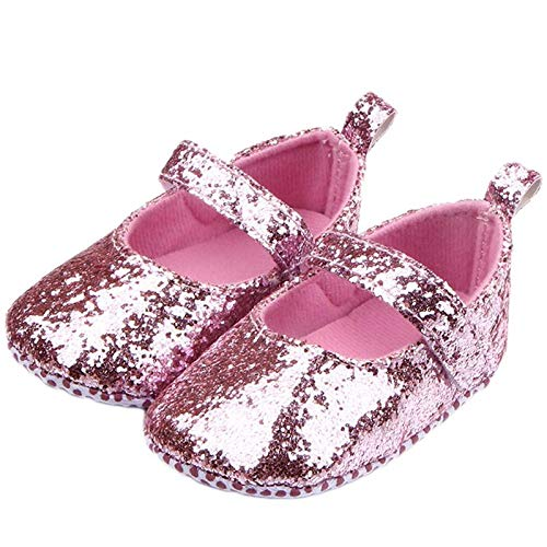 Mishlee Baby Girl's Cotton Pink Booties