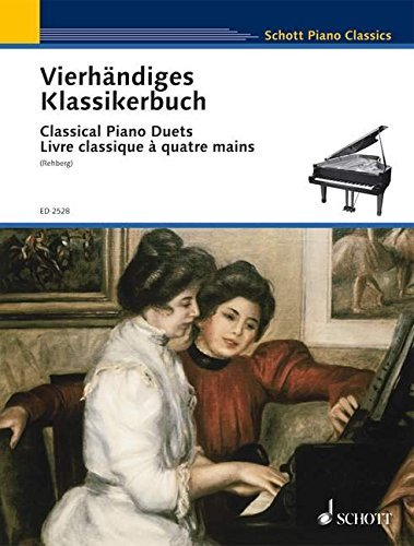 CLASSICAL PIANO DUETS EASY ORIGINAL DUETS PNO/4HD by Willy Rehberg (1985-04-01)
