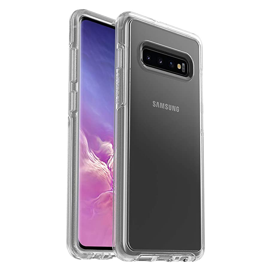 OtterBox SYMMETRY CLEAR SERIES Case for Galaxy S10+ - Retail Packaging - CLEAR