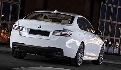 Original BMW Heckleuchten Rückleuchten weiß / White Line 5er F10 Limousine