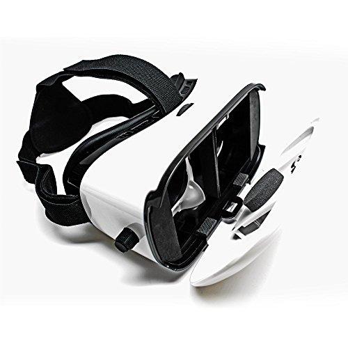 2016 Indigi Nuevo visor de realidad virtual VR6 compatible con Android iOS 4.5' a 6'