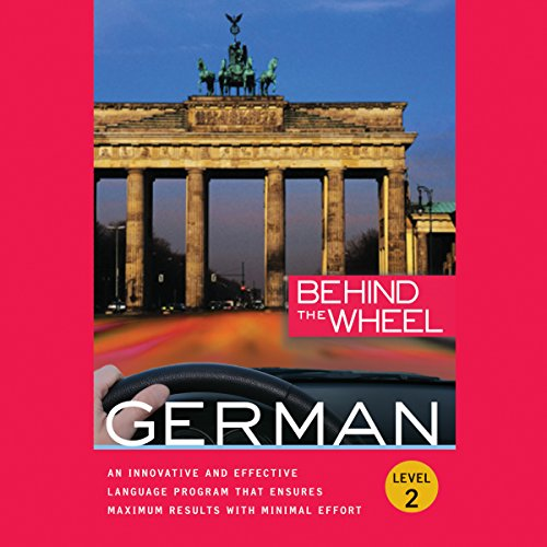 Behind the Wheel: German 2 audiobook cover art