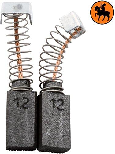 Buildalot Specialty koolborstels ca-17-23707 voor AEG boormachine SB2E550-5x8x14mm - met automatische uitschakeling - vervanging voor originele onderdelen 4.931.310.684 & 4.931.382.551