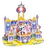 Puzzles 3D Maquetas Para Construir 3D Rompecabezas Modelo Lindo Castillo De Dibujos Animados Jardín Princesa Muñeca Muebles Diy Muebles Casa De Muñecas 3D Puzzle Interesante Juguetes Educativos Para N
