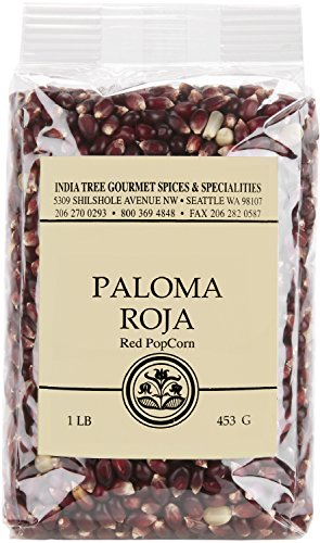 Best Prices! India Tree Paloma Roja PopCorn, 1 Pound