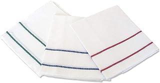 THEAILATI Geschirrtuch, Geschirrtuch, 60 x 75 cm, 6 Stück DAMA Aida - 100% Baumwolle - vielseitig einsetzbar, sehr saugfähig