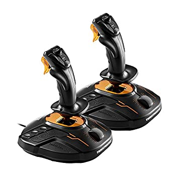 THRUSTMASTER T.16000M Space Sim Duo Stick Hosas System T.A.R.G.E.T Software PC